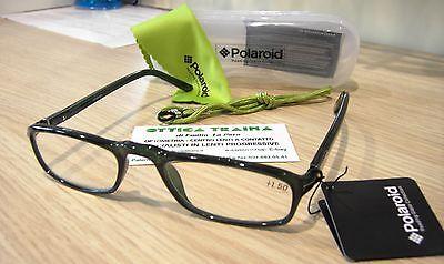 2.50 Verde Scuro Occhiali x Lettura Reading Glasses Polaroid R935