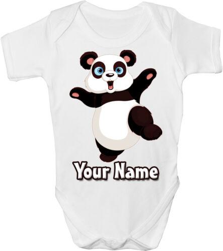 Gro Body Panda Personalizados Sublimación Baby Chaleco ** gran llamado Regalo **