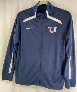 Nike-Team-Overtime-Track-Jacket-598443-420-Mens-Full-Zip-Blue-White-L