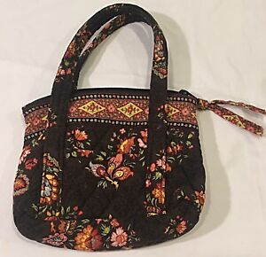313ea2ea15 Vintage Vera Bradley Purse Bag Retired Floral Mini Small Rare Made ...