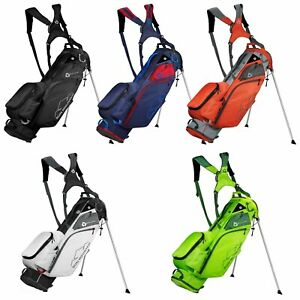 2021 Sun Mountain Eco-Lite Golf Stand Carry Bag Dual Carry Strap 4-Way Divider
