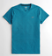 Hollister-homme-a-encolure-ras-du-cou-a-manches-courtes-Muscle-must-have-Courbe-Tee-Logo-T-Shirt miniature 43