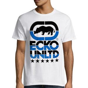 NWT-ECKO-UNLTD-LOGO-AUTHENTIC-MEN-039-S-WHITE-CREW-NECK-SHORT-SLEEVE-T-SHIRT-SIZE-L