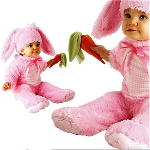1a35d708d Image is loading Rabbit-Costume-Baby-Girl-Bunny-Precious-Pink-Wabbit-