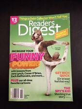 Readers Digest Oct 2011, Humor Special