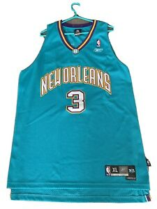 Details about Chris Paul New Orleans Hornets NBA Jersey Mens XL Reebok Sewn #3 CP3 Length 2