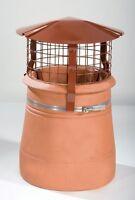Brewer Cowl Multi Fuel Chimney Birdguard Gas Solid Fuel