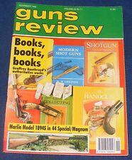 GUNS REVIEW MAGAZINE NOVEMBER 1995 - THE MARLIN MODEL 1894 S 44 SPECIAL MAGNUM