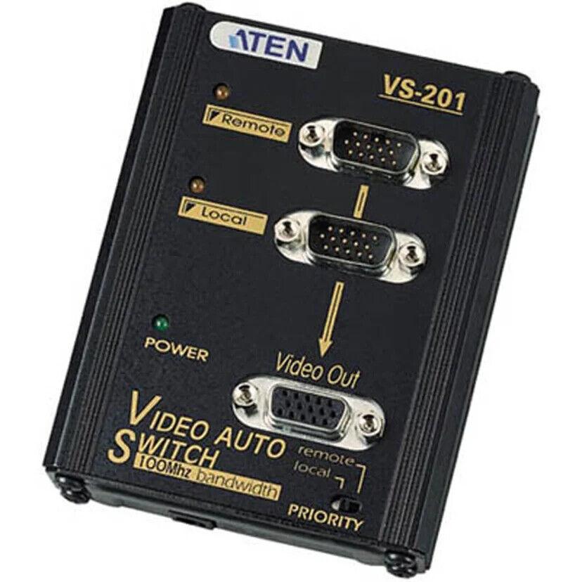 15 Pieces brand new Aten VS201 2 Port VGA Auto Switch
