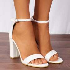 20391ee1bb item 2 DUSKY PINK BUCKLE STRAPPY SANDALS PEEP TOES HIGH HEELS SHOES SIZE 3  4 5 6 7 8 -DUSKY PINK BUCKLE STRAPPY SANDALS PEEP TOES HIGH HEELS SHOES  SIZE 3 4 ...