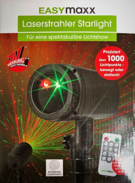 Laserstrahler Starlight Von Easymaxx Für Außenbereich Mit Fernbedienung Beleuchtung