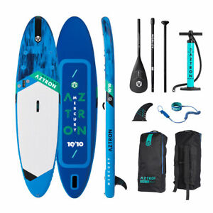 Aztron-MERCURY-10-039-10-034-Double-Chamber-Inflatable-Stand-Up-Paddle-SUP-Board