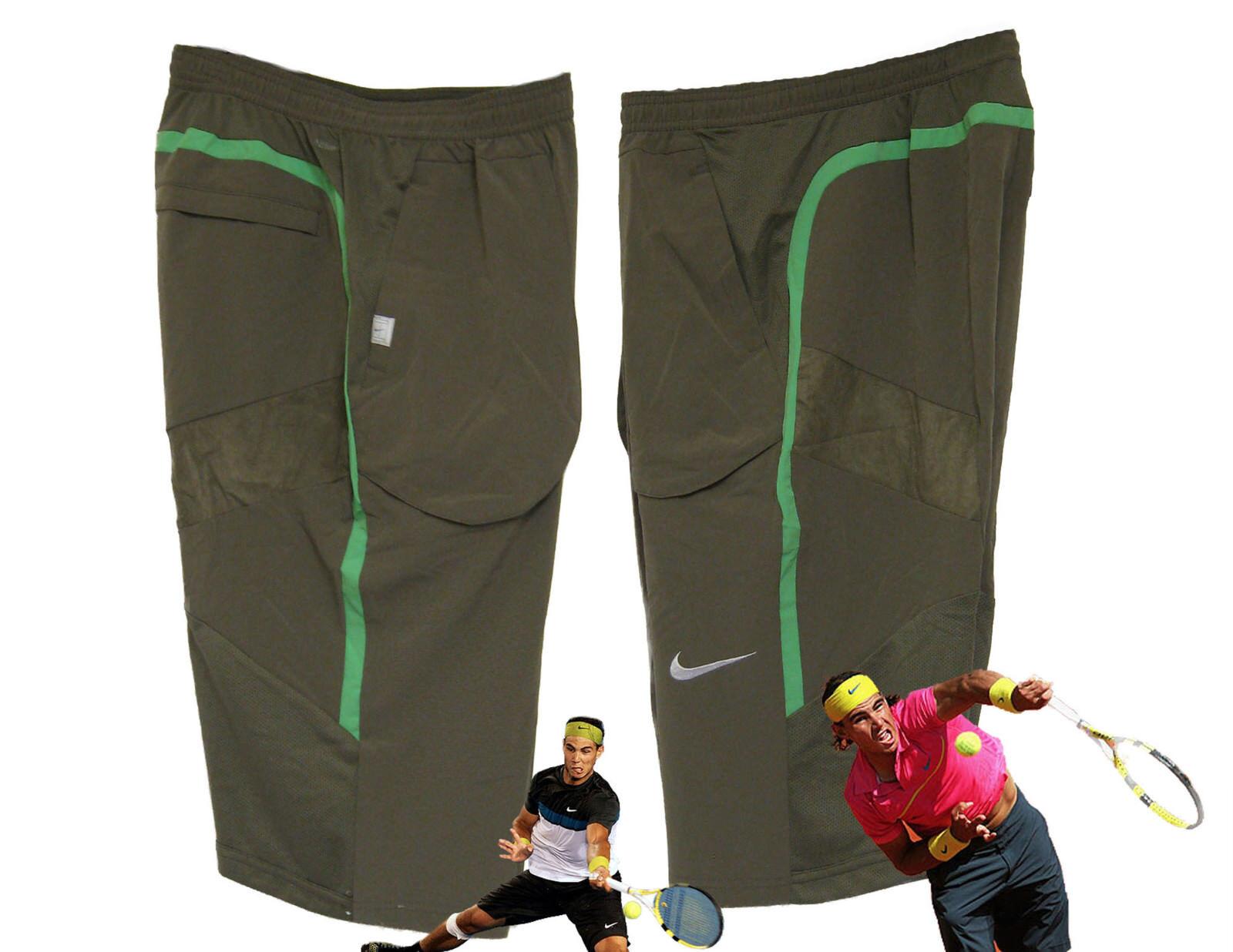 New NIKE Boys DriFIT NADAL Style TENNIS SHORTS  XL Age 13-15 Yrs + FREE BANDANA