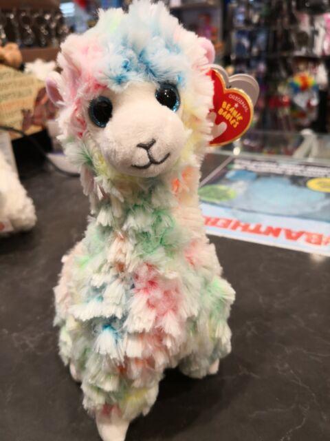 1a5547e4832 Ty Beanie Boos Lola The Multicolour Llama Regular Size 41217 ...