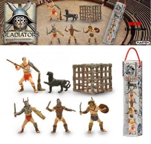 Plastoy - Gladiators - Gladiators - 6 Figuren Set - Nip