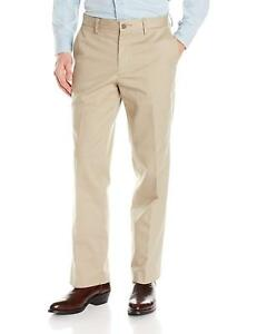 New-Ariat-Men-039-s-M2-Performance-Khaki-Pant-Tan-Relaxed-Fit-Boot-Cut-No-Wrinkle