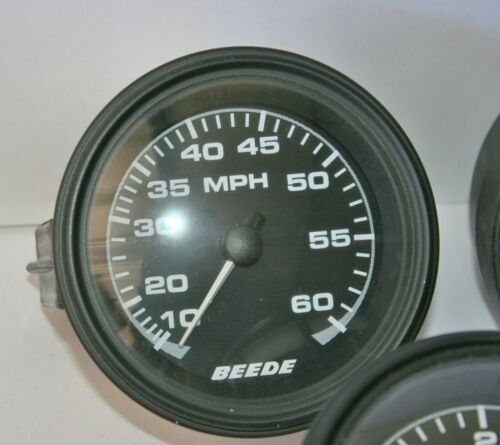 60 MPH Water pressure Pitot Pick up Beede Speedometer 944181 Marine Boat