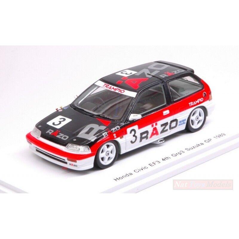 3 S5457 Civic N Gp 1989 Spark 3 tsutsumi Hattori Model Ef3 Suzuka N wOPn0k