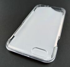 TRANSPARENT CLEAR 2 PIECES HARD SHELL SNAP-ON CASE COVER APPLE IPHONE 6 6S 4.7""