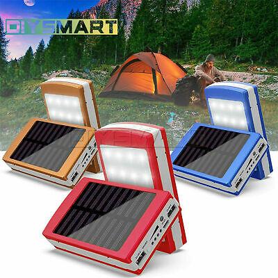 Portable Solar Panel Power Led Light Outdoor Camping Tent Energy Lamp Diy Au Ebay