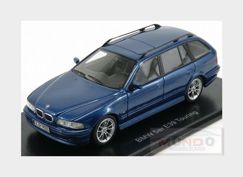 Bmw 5-Series 530D (E39) Touring 2002 bleu bleu bleu Met NEOSCALE 1 43 NEO49555 506d8d