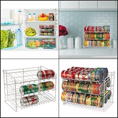 Can Rack Pantry Organizer Kitchen Cabinet Shelf Canned Food Soup Storage  Holder 31742010026 | eBay