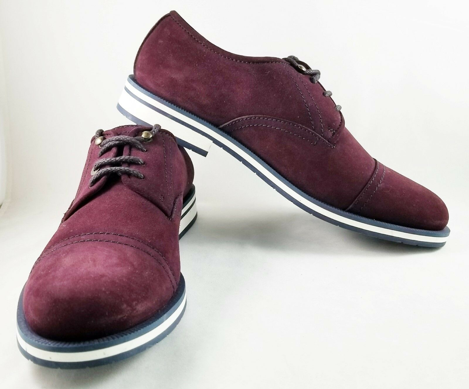 Jimmy Choo Men's Burgundy suede shoes size 43