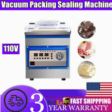 18l Digital Vacuum Packing Sealing Machine Sealer Food Chamber Commercial 360w