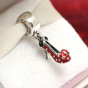 d3cef2746 Image is loading Authentic-Pandora-Disney-Park-Exclusive-Minnie-Shoe-Charm-