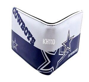 NFL Dallas Cowboys Men s Printed Logo Leather Bi-Fold Wallet ... b91a068cd64