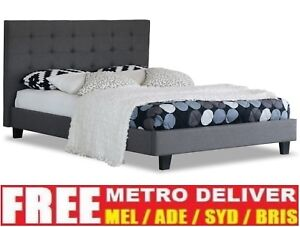 ALEXIS-KING-SINGLE-DOUBLE-QUEEN-SIZE-GREY-BEIGE-LINEN-FABRIC-WOODEN-BED-FRAME