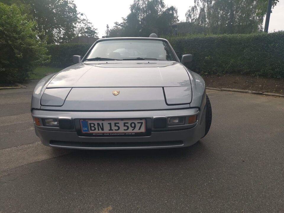 Porsche 944, 2,5, Benzin