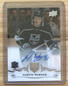 2018-19-Upper-Deck-UD-Clear-Cut-Auto-Austin-Wagner-Autograph-Rookie-Card-RC