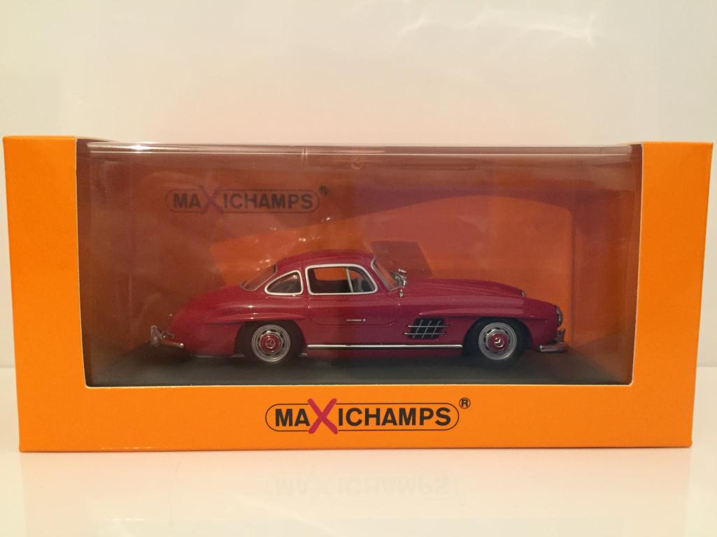 negozio di sconto Minichamps Minichamps Minichamps 940039001 Mercedes 300 Sl Coupé 1955 Rosso Maxichamps  vendita di offerte