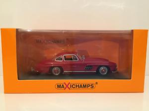 Minichamps 940039001 Mercedes 300 Sl Coupé 1955 Rojo Maxichamps