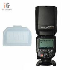 Yongnuo YN600EX-RT II Wireless Flash Speedlite TTL Slave Master+Diffuser f Canon