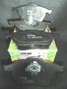 Genuine-OE-Quality-Girling-Freno-Delantero-Pad-Set-AUDI-SEAT-SKODA-VW-6112752
