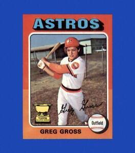 1975 Topps Mini Set Break #334 Greg Gross NM-MT OR BETTER *GMCARDS*