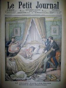 AIX-LES-BAINS-CRIME-FRONTIERE-FRANCAISE-DESERTEUR-ALLEMAND-LE-PETIT-JOURNAL-1903