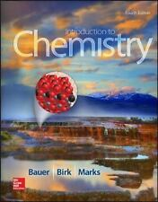 Biology by eric p widmaier and robert j brooker 2016 hardcover introduction to chemistry by james p birk richard c bauer and pamela s fandeluxe Choice Image