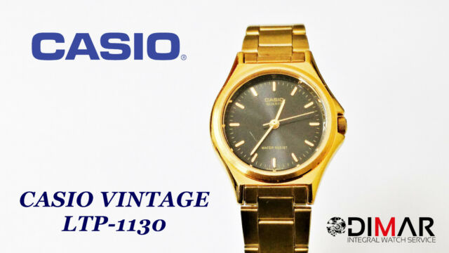 ad2f96070894 Vintage Casio Ltp-1130 Qw.705 Japan Años 90 Ø27mm