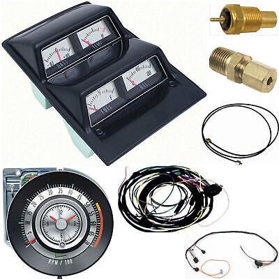 tic toc tach wiring diagram oer 1968 camaro console gauges w wiring   tach 5500 at fs ebay  oer 1968 camaro console gauges w