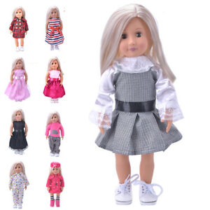 17161417e2d Hot Madame Handmade fashion Doll Clothes dress For 18 inch Doll ZY ...
