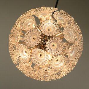 Soelken-Pusteblume-Sputnik-Lampe-Stab-Pendel-Haenge-Leuchte-Vintage-60er-70er