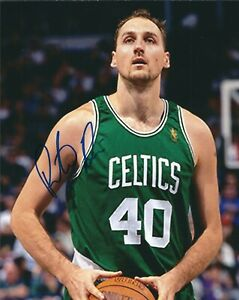 Signed  8x10 DINO RADJA Boston Celtics Autographed Photo w/COA