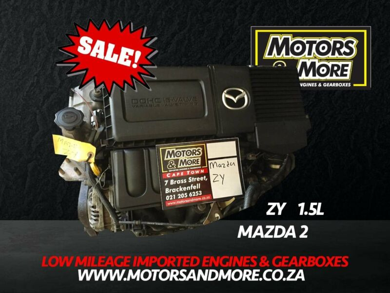 Mazda 2/3 ZY 1.5 Engine For Sale No Trade in Needed