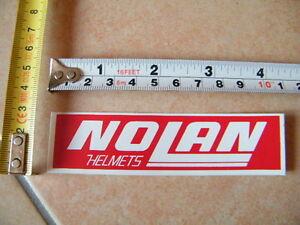 NOLAN-HELMETS-STONER-MELANDRI-AGV-SHOEI-STICKER-AUTOCOLLANT-AUFKLEBER-ARAI-BELL