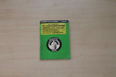 163020) Chemo - Preise & Extras - Prospekt 04/1979 Weitere Rabatte üBerraschungen