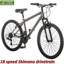 "24"" ROADMASTER MOUNTAIN BIKE BOY'S FRONT SUSPENSION Sport Bicycle Shimano NEW!"