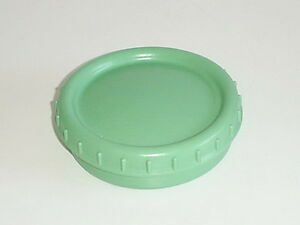 GERMAN ARMY WWII WW2 REP. FAT BUTTER DISH  green